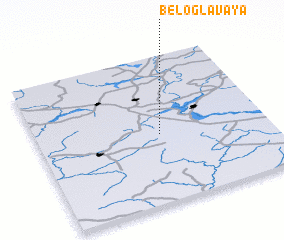 3d view of Beloglavaya