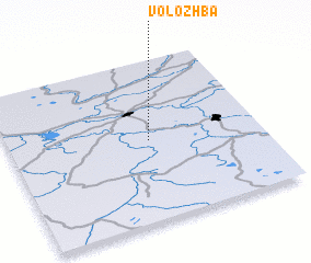 3d view of Volozhba