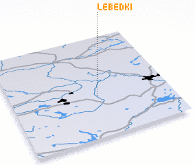 3d view of Lebëdki