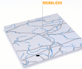 3d view of Mikhalëvo