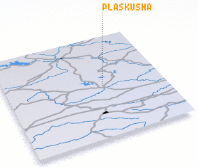 3d view of Plaskusha