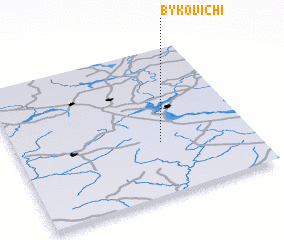 3d view of Bykovichi
