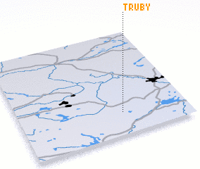 3d view of Truby