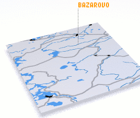 3d view of Bazarovo