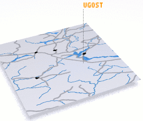 3d view of Ugost\