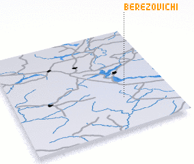 3d view of Berëzovichi