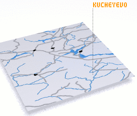 3d view of Kucheyevo