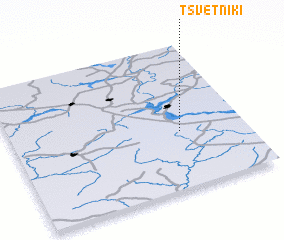 3d view of Tsvetniki