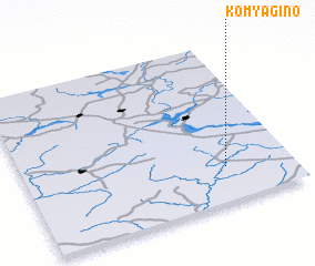 3d view of Komyagino
