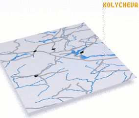 3d view of Kolychëva