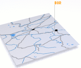 3d view of Bor