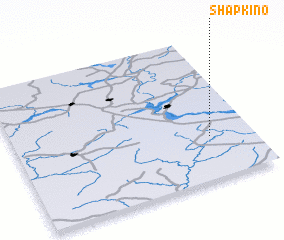 3d view of Shapkino
