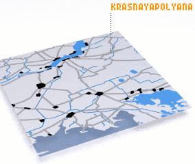 3d view of Krasnaya Polyana