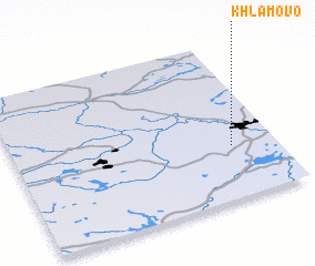 3d view of Khlamovo