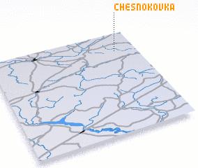 3d view of Chesnokovka