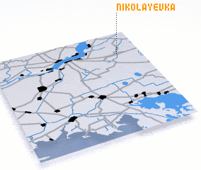 3d view of Nikolayevka