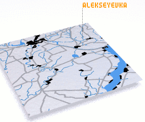 3d view of Alekseyevka
