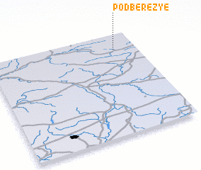 3d view of Podberez\