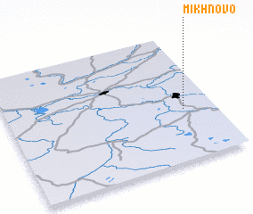 3d view of Mikhnovo