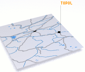 3d view of Topol\