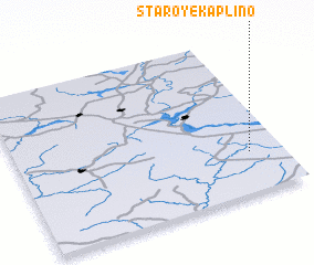3d view of Staroye Kaplino