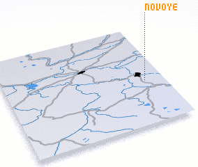 3d view of Novoye