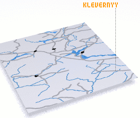 3d view of Klevernyy