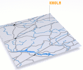 3d view of Kholm