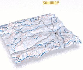 3d view of Söküköy