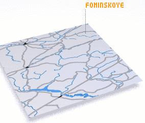 3d view of Fominskoye