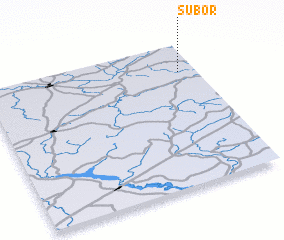 3d view of Subor\