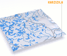 3d view of Karzizila
