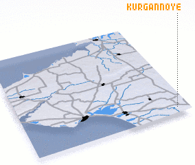 3d view of Kurgannoye
