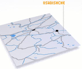 3d view of Usadishche
