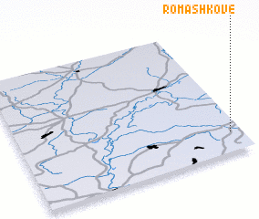 3d view of Romashkove