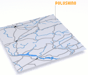 3d view of Polushino