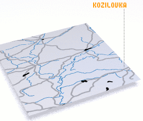3d view of Kozilovka