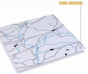 3d view of Shalimovka