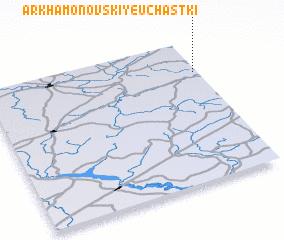 3d view of Arkhamonovskiye Uchastki