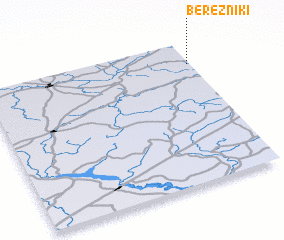 3d view of Berezniki