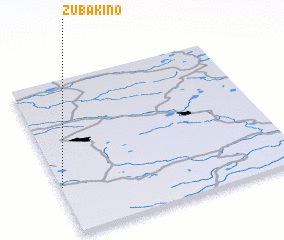 3d view of Zubakino