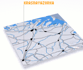 3d view of Krasnaya Zor'ka