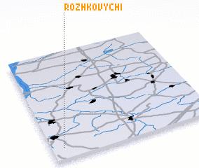 3d view of Rozhkovychi