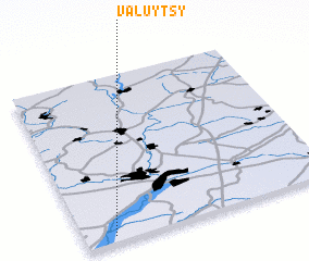 3d view of Valuytsy