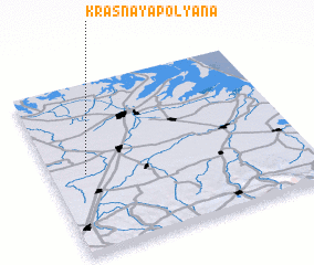 3d view of Krasnaya Polyana