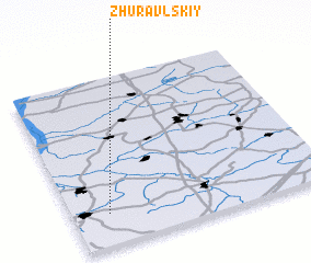 3d view of Zhuravl\
