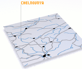 3d view of Chelnovnya