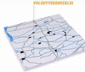 3d view of Polevyye Novosëlki