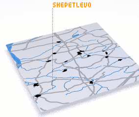 3d view of Shepetlevo