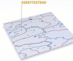 3d view of Gornyy Ostrov